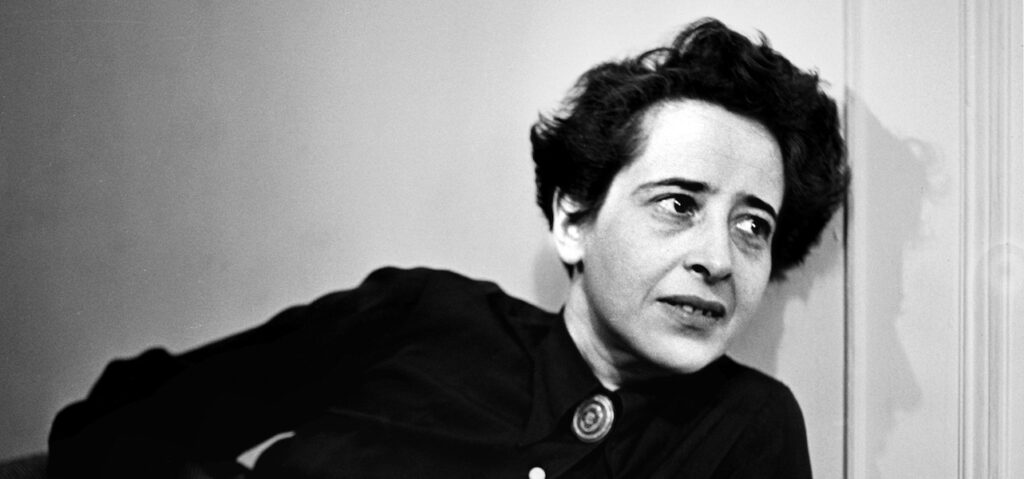 La tricherie d'Hannah Arendt – Transcription